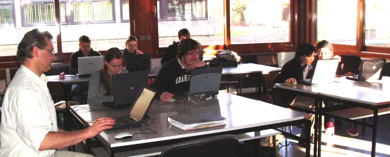 E-Learning mit Laptops